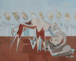 Obraz do salonu artysty Filip Gruszczyński pod tytułem Vital Amicita