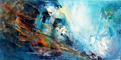Obraz do salonu artysty Aneta Barglik pod tytułem Gdzie pójdziesz ja pójdę