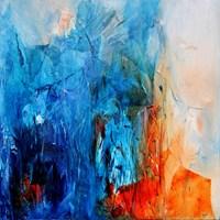 Obraz do salonu artysty Aneta Barglik pod tytułem Czekając na spotkanie