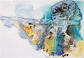 Obraz do salonu artysty Aneta Barglik pod tytułem Otulona