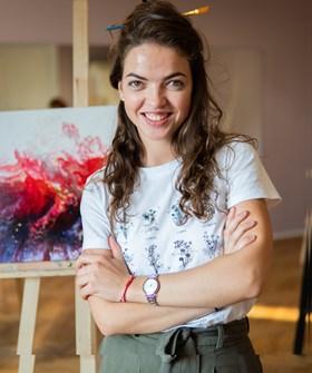 Krystyna Khvostyk - Artysta - Galeria sztuki Art in House