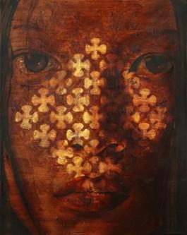 Obraz do salonu artysty Siergiej Gryniewicz pod tytułem Spowiedź