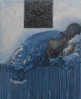 Obraz do salonu artysty Andrzej Strumiłło pod tytułem Bez tytułu