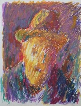 Obraz do salonu artysty Jerzy Panek pod tytułem Autoportret