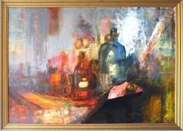 Obraz do salonu artysty Michał Smółka pod tytułem Martwa natura