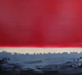 Obraz do salonu artysty Agata Trafalska pod tytułem CZERWONY