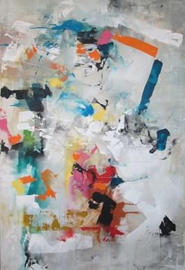 Obraz do salonu artysty Małgorzata Pabis pod tytułem INNER SUMER