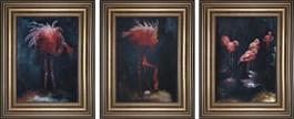 Obraz do salonu artysty J. Aurelia Sikiewicz-Wojtaszek pod tytułem FLAMINGI