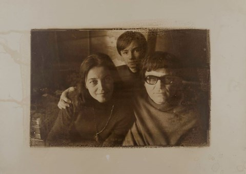 do salonu artysty Liliana Bilińska pod tytułem Rodzina Beksińskich