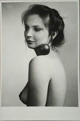 do salonu artysty Jerzy Kośnik pod tytułem Portret Anny Dymnej z roku 1979