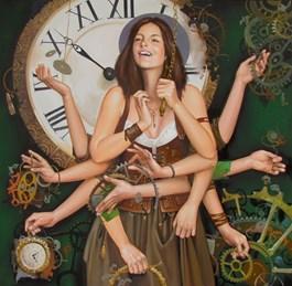 Obraz do salonu artysty Andrejus Kovelinas pod tytułem JOY OF LIFE