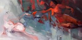 Obraz do salonu artysty Beata Musiał-Tomaszewska pod tytułem STWORZENIE EWY