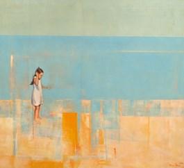 Obraz do salonu artysty Ilona Herc pod tytułem W SŁOŃCU I