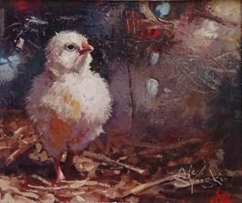 Obraz do salonu artysty Alex Sporski pod tytułem MALUCH