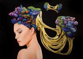 Obraz do salonu artysty Dominik Balcerzak pod tytułem DUALIZM MYŚLI