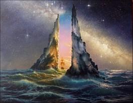 Obraz do salonu artysty Marek Rużyk pod tytułem PRZEJŚCIE