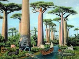 Obraz do salonu artysty Adam Swoboda pod tytułem MÓJ MADAGASKAR