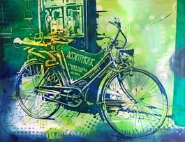 Obraz do salonu artysty Joanna Szumska pod tytułem ZIELONA WRÓŻKA