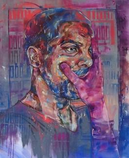 Obraz do salonu artysty Bastien Ducourtioux pod tytułem SILENCE