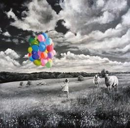 Obraz do salonu artysty Martyna Mączka pod tytułem POZYTYWNIE
