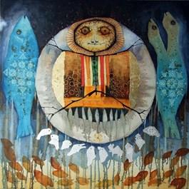 Obraz do salonu artysty Paweł Gładkow pod tytułem DRUM