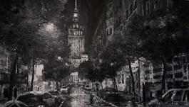 Obraz do salonu artysty Arkadiusz Mężyński pod tytułem PANKIEWICZA