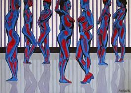 Obraz do salonu artysty Robert Krężlak pod tytułem PROFILE 2