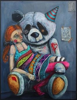 Obraz do salonu artysty Wojciech Brewka pod tytułem Just Friends