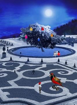 Obraz do salonu artysty Paulina Zalewska pod tytułem Ptasi wersal