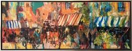 Obraz do salonu artysty Krzysztof Ludwin pod tytułem Markizy (z cyklu nerwowy ekspresjonizm)