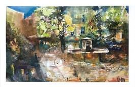 Obraz do salonu artysty Krzysztof Ludwin pod tytułem Korsyka nad morzem