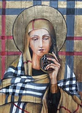 Obraz do salonu artysty Borys Fiodorowicz pod tytułem Fashion & Icon