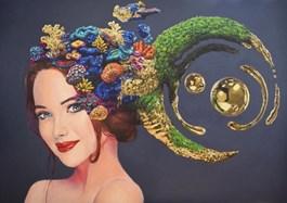 Obraz do salonu artysty Dominik Balcerzak pod tytułem Przekszatłcenie