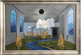 Obraz do salonu artysty Adam Swoboda pod tytułem Szósty wymiar