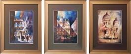 Obraz do salonu artysty J. Aurelia Sikiewicz-Wojtaszek pod tytułem Miasta południa