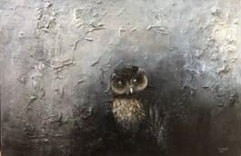 Obraz do salonu artysty Klaudia Choma pod tytułem Sowa