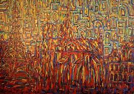 Obraz do salonu artysty Adam Bojara pod tytułem Paryż