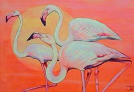 Obraz do salonu artysty Janina Zaborowska pod tytułem Trzy gracje