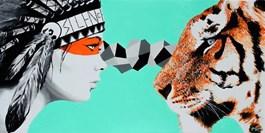 Obraz do salonu artysty Zuzanna Jankowska pod tytułem Reinkarnacja