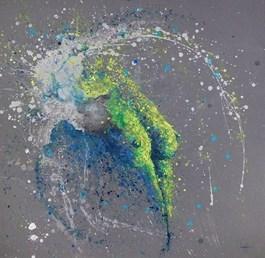 Obraz do salonu artysty Magda Maciaszek pod tytułem Logika I