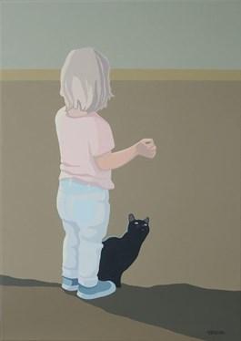 Obraz do salonu artysty Joanna Sułek-Malinowska pod tytułem Przysmaczek