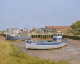 Port rybacki w Norfolk