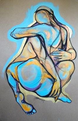 Obraz do salonu artysty Aleksandra Wiszniewska pod tytułem Twoim odechem