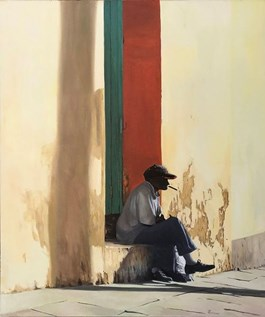 Obraz do salonu artysty Zdzisław Zieliński pod tytułem El Habanero Viejo