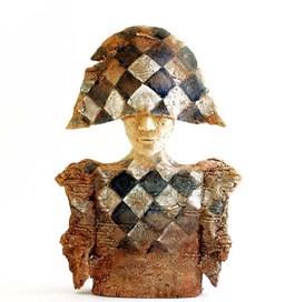 Rzeźba do salonu artysty Arek Szwed pod tytułem Czas zapomniany