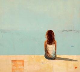 Obraz do salonu artysty Ilona Herc pod tytułem Wera (z cyklu pytania)