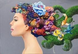 Obraz do salonu artysty Dominik Balcerzak pod tytułem Marzenia senne