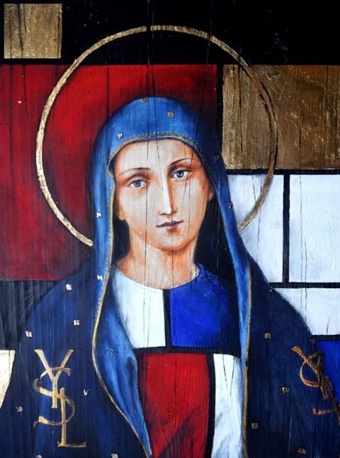 Obraz do salonu artysty Borys Fiodorowicz pod tytułem Madonna Mondriana od Laurenta