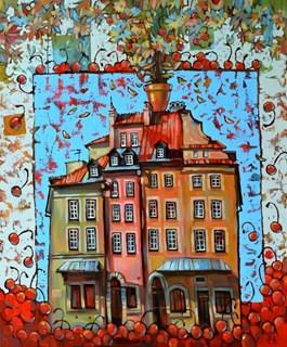 Obraz do salonu artysty Paweł Oleszkiewicz pod tytułem Poranek