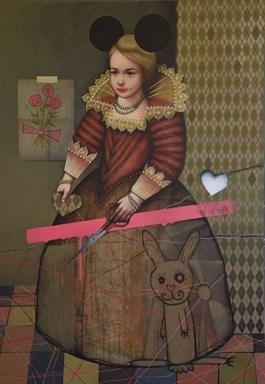 Obraz do salonu artysty Kamil Stańczak pod tytułem Dotknij pokrzyw X
